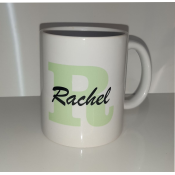 Initial and Name Mug Green feature image