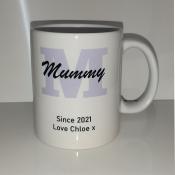 Personalised Mummy Since Mug feature image