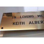 Engraved Brass Plaque feature image