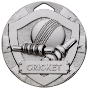 50mm CRICKET MEDAL feature image