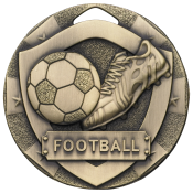 50mm FOOTBAL MEDAL feature image