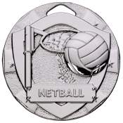 50mm NETBALL MEDAL feature image