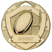 50mm RUGBY MEDAL feature image