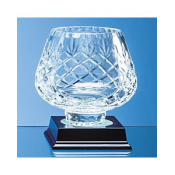 Lead Crystal Panelled Tulip Bowl feature image