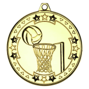 TRI STAR NETBALL MEDAL feature image