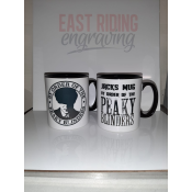 Personalised Peaky Blinders Mug feature image