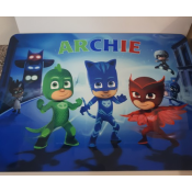 PJ Masks Hardboard Place mat feature image