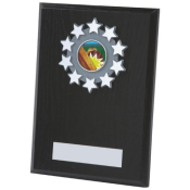 PIANO BLACK WOODEN SHIELD feature image